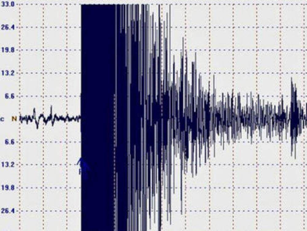 Scossa di terremoto davanti alle coste occidentali della Calabria