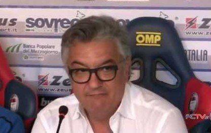 «Se lo Scida non sarà pronto, il Crotone giocherà a Pescara»