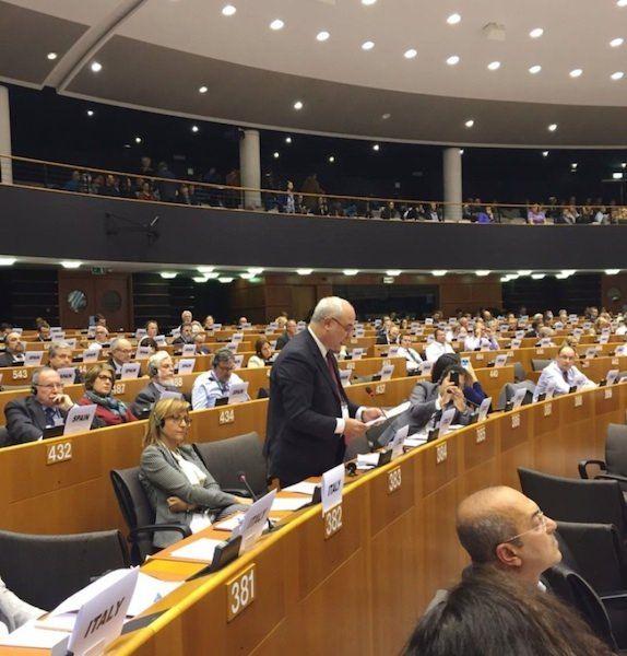 """Algieri propone l'""""economia circolare"""" a Bruxelles"""