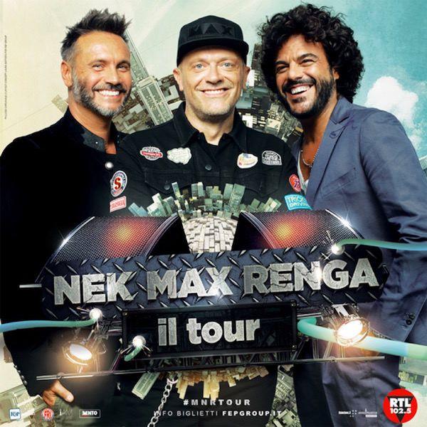Nek, Pezzali e Renga aprono la Summer Arena 2018