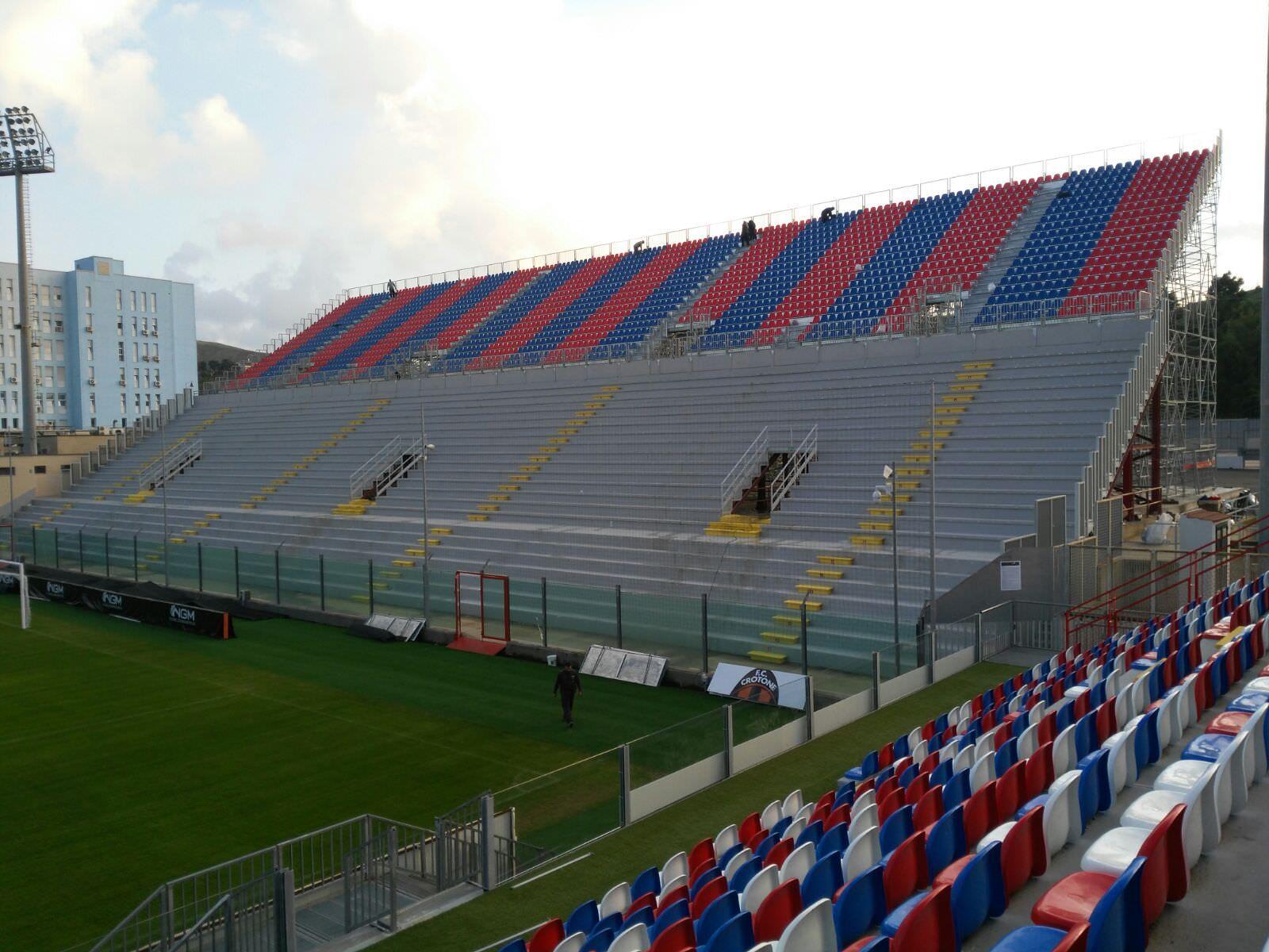 Stadio di Crotone, braccio di ferro tra il sindaco e la Soprintendenza