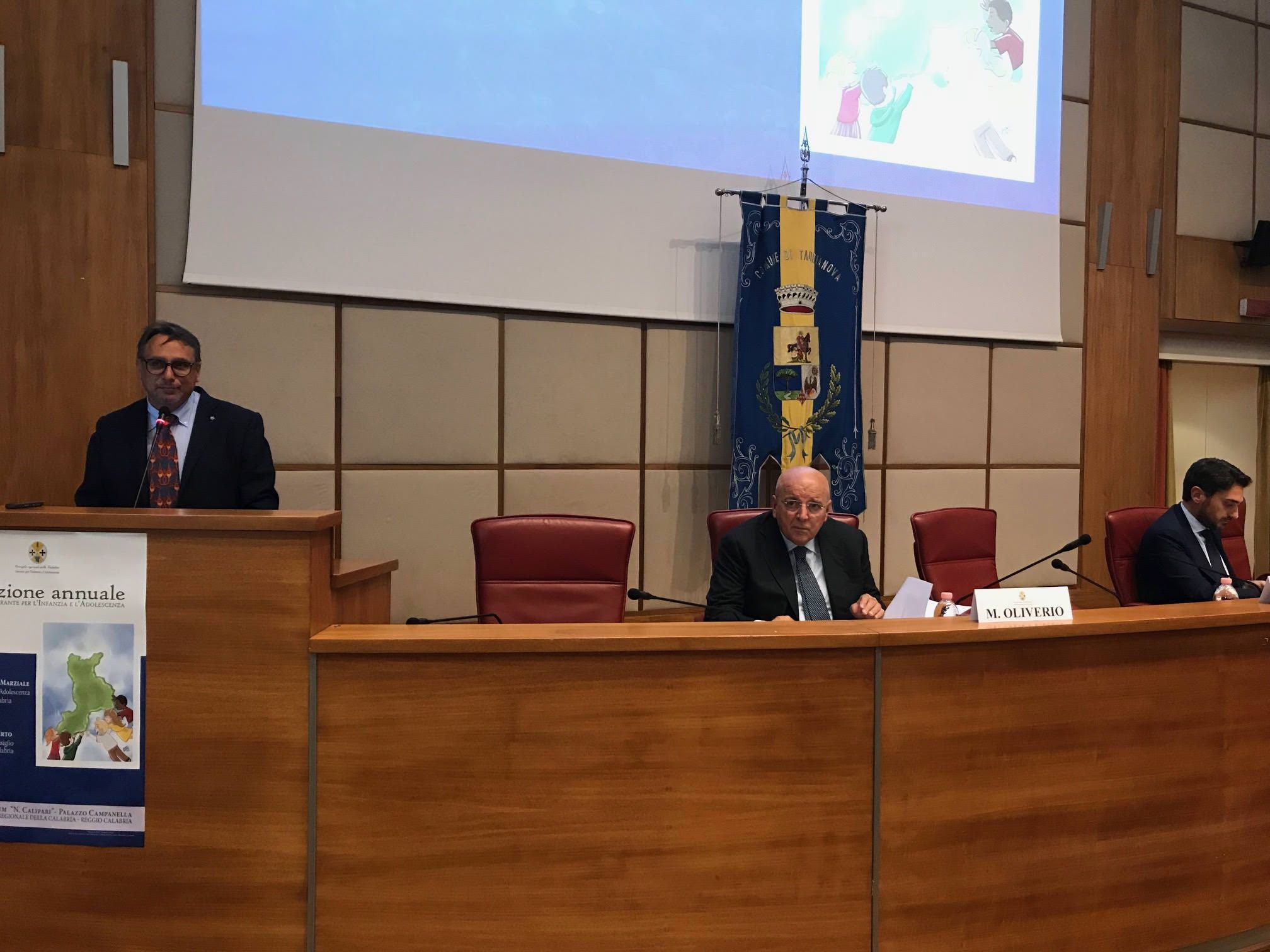 Marziale presenta il report: «Rivoluzione per l'infanzia»