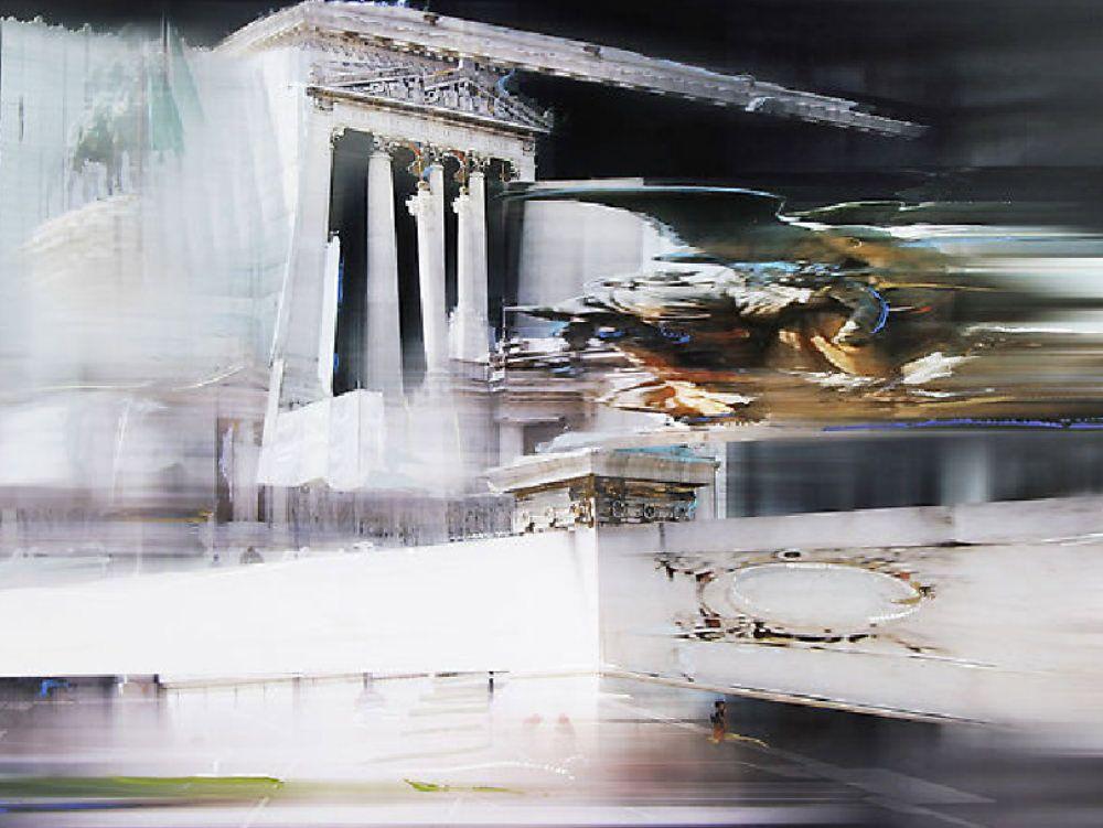 Il pittore crotonese che racconta la Capitale