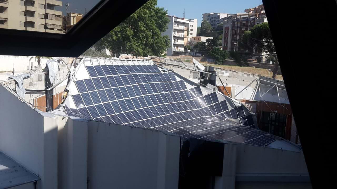Crollo tetto auditorium Calipari, Giannetta: «Accertare subito le responsabilità»