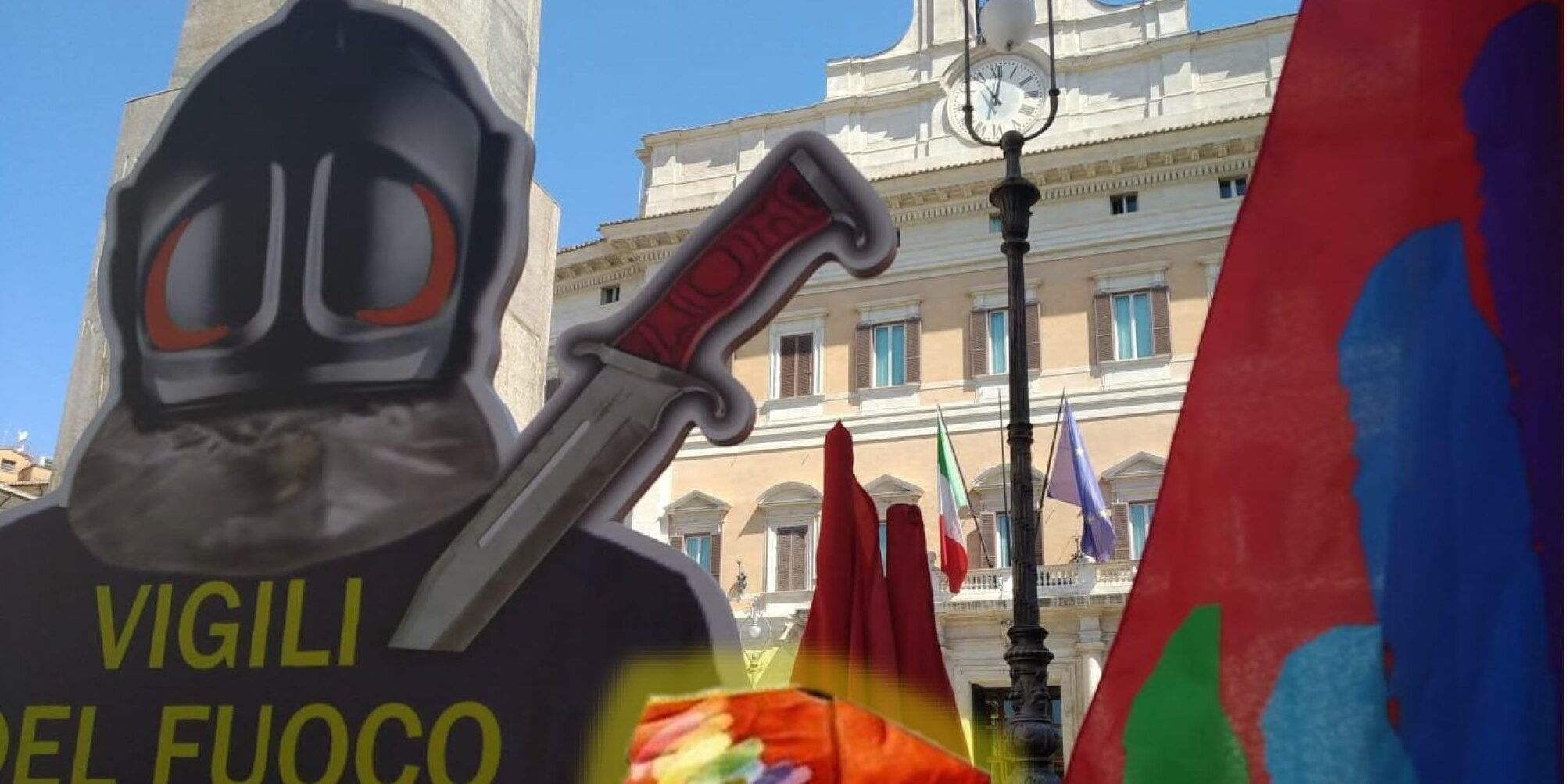 Usb Catanzaro: «Vigili del fuoco senza mezzi e protezioni mentre nessuno fa nulla»