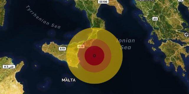 Terremoto di magnitudo 3.0 registrato a Capo Spartivento
