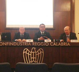 Da sinistra Berti, Cuzzocrea e Lamberti Castronuovo