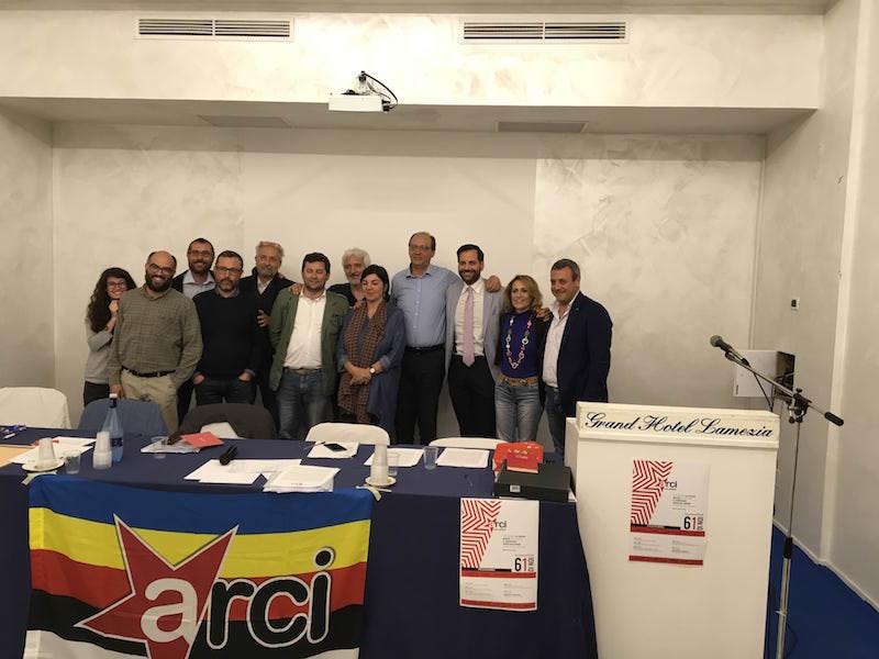 Giuseppe Apostoliti nuovo presidente dell'Arci Calabria