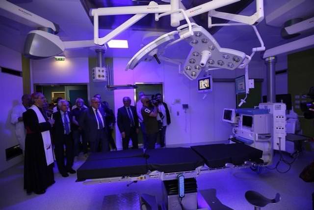 Sette nuove sale operatorie nell'ospedale di Cosenza