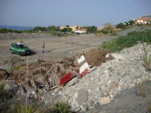 Sbancamento abusivo, sigilli ad un'area di 14mila metri quadri a Scalea