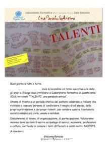 Lamezia, alla comunità Progetto Sud si discute di talenti