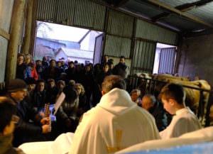 """Sant'Antonio Abate, la """"Montagna"""" e la benedizione delle mucche – FOTO"""