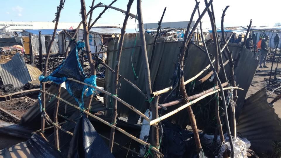 Nuova vittima di un rogo nella baraccopoli di San Ferdinando – VIDEO