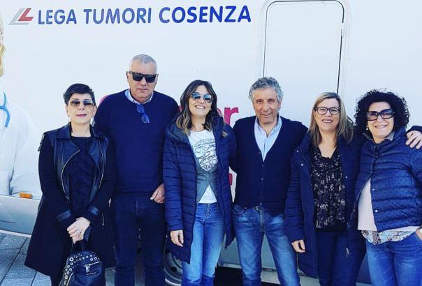Lotta contro i tumori, la campagna di promozione fa tappa a San Giovanni in Fiore
