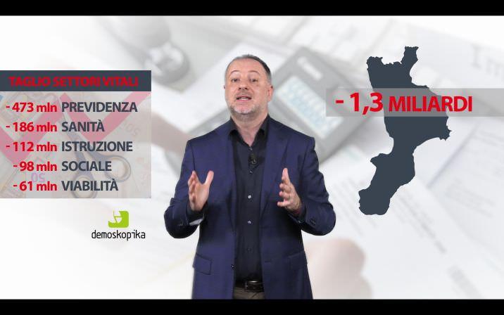 TABLOG | Autonomia, in Calabria il residuo fiscale più negativo d'Italia