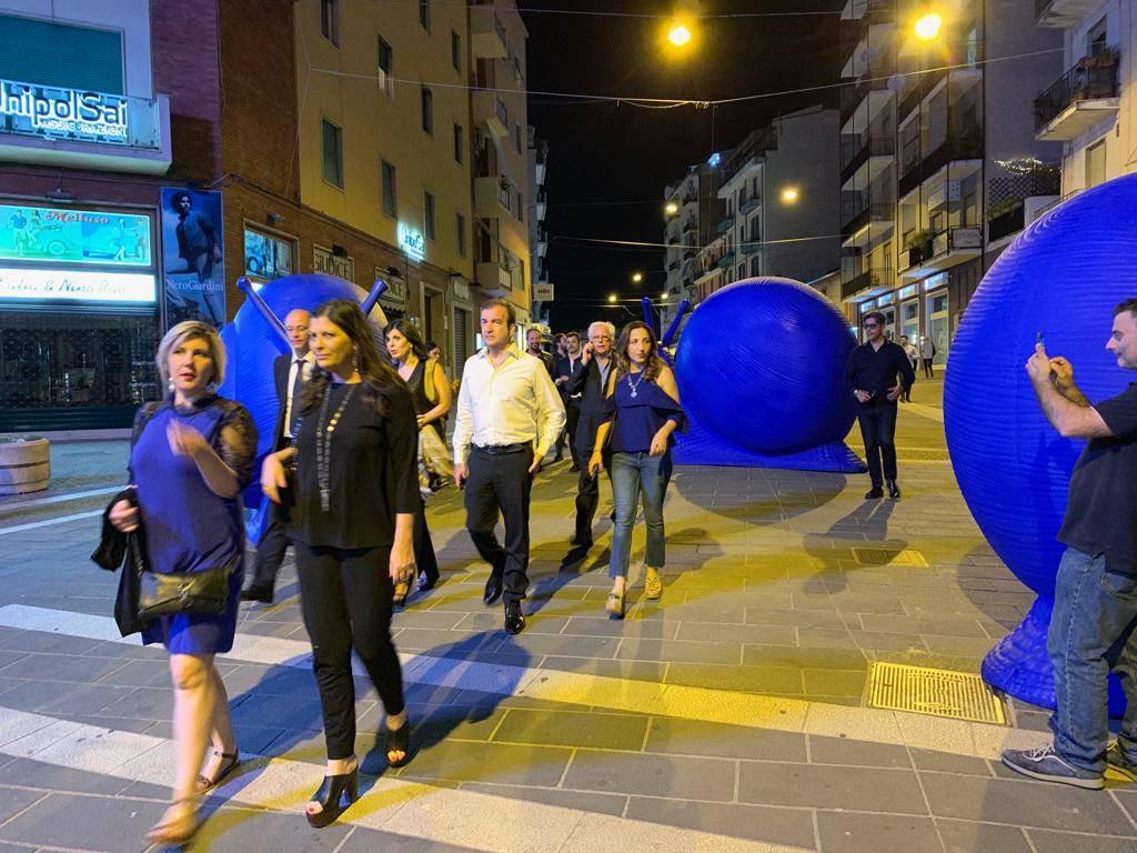 Cosenza, le Invasioni 2019 iniziano con la cracking art – FOTOGALLERY