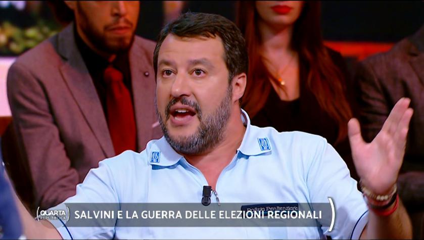 Salvini ribadisce: «In Calabria voglio un candidato senza processi in corso»