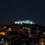 Castello Vibo illuminato