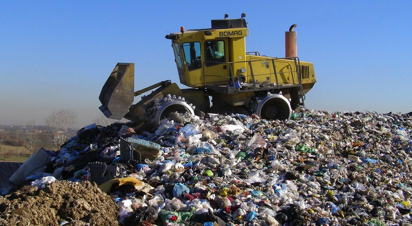 discarica rifiuti Calabria