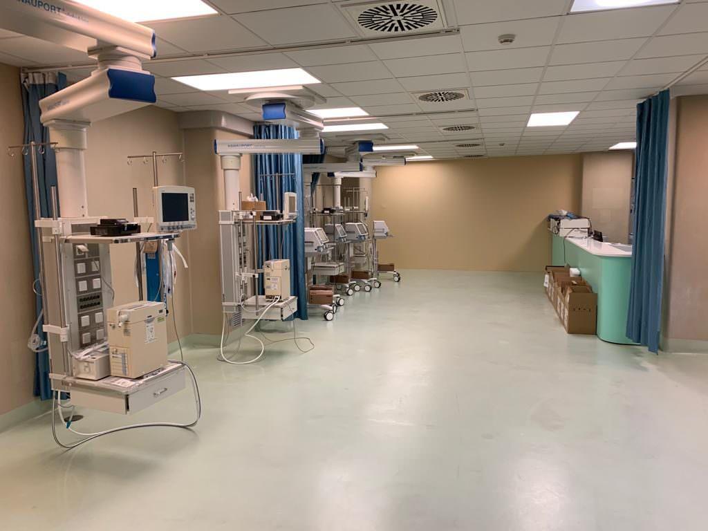 """Il """"miracolo"""" della Cardiochirurgia universitaria: in piena attività nell'emergenza Covid"""