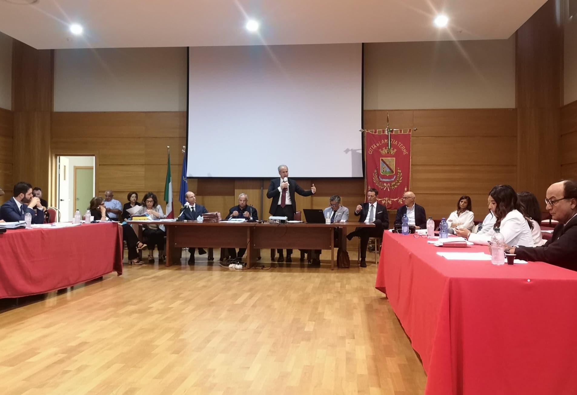 consiglio comunale Lamezia