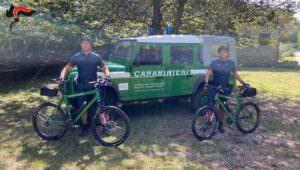 bici carabinieri forestali