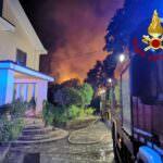 incendio gagliano VVFF