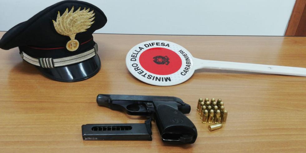 pistola davoli