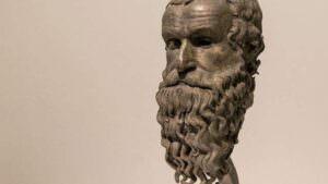 testa del filosofo