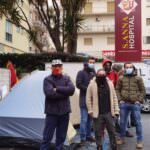 sant'anna hospital protesta